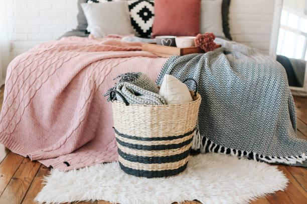 Como colocar plaid de cama