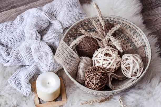 Cómo utilizar cestas como decoración en el hogar