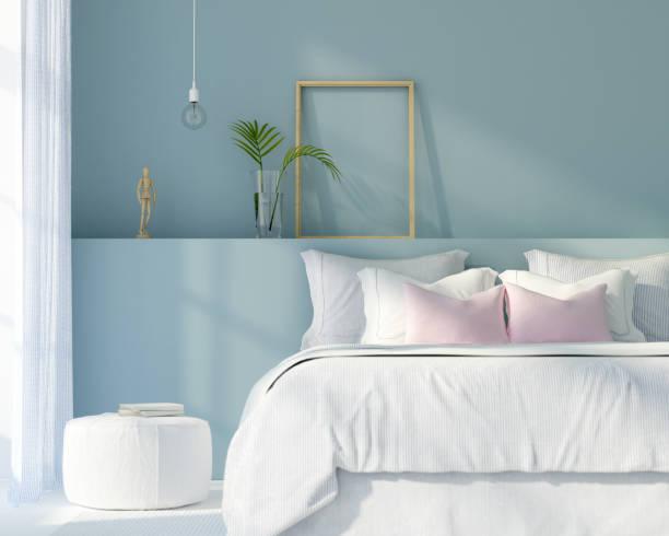 Como colocar cojines en la cama colores neutros