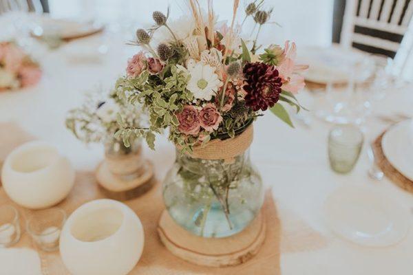 Centro de mesa para boda Centro de mesa para boda con flores XXL