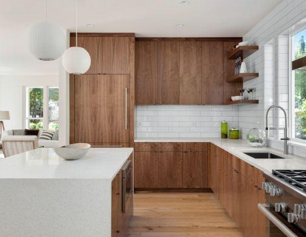 Cocinas rusticas armarios madera