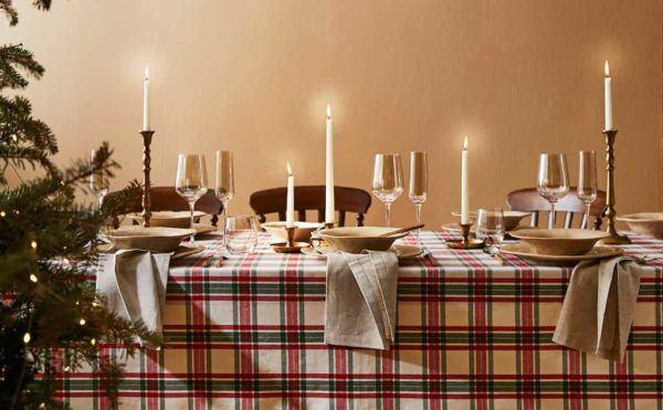 Catálogo Zara Home Navidad 2020 Comedor