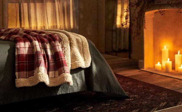 Catálogo Zara Home Navidad 2020 Dormitorios