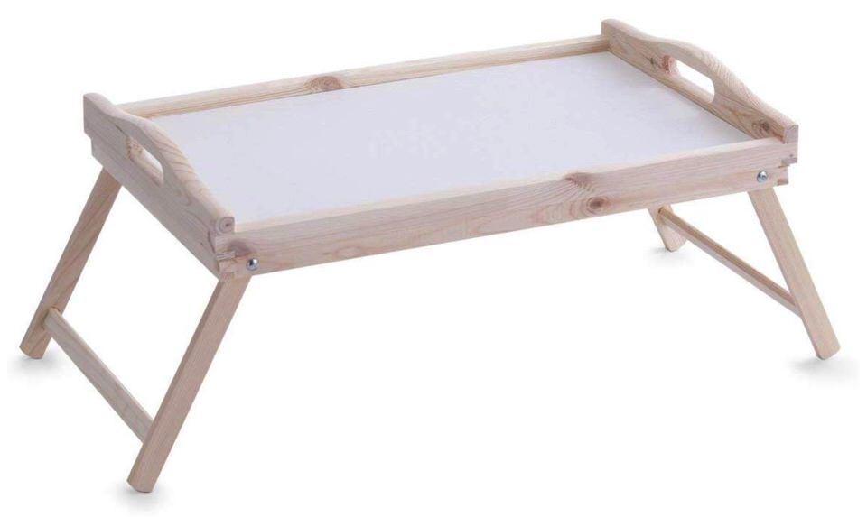 Bandeja de desayuno para la cama de Zeller (en madera)