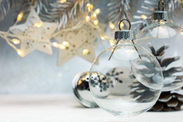 Bolas de navidad personalizadas hechas a mano 2020