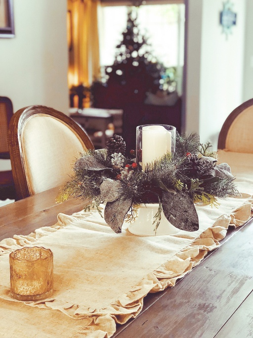 Centros de mesa navidad 2019 elegantes
