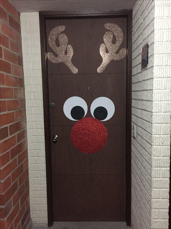 como-decorar-una-puerta-en-navidad-rosa-satizabal