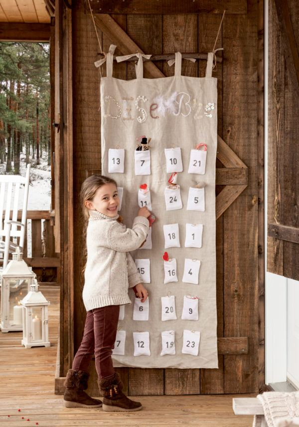 Decoración de habitación para niños en Navidad 2020