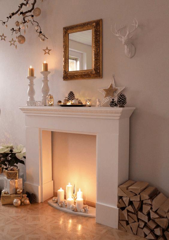 Decoración de Chimeneas para Navidad 2020