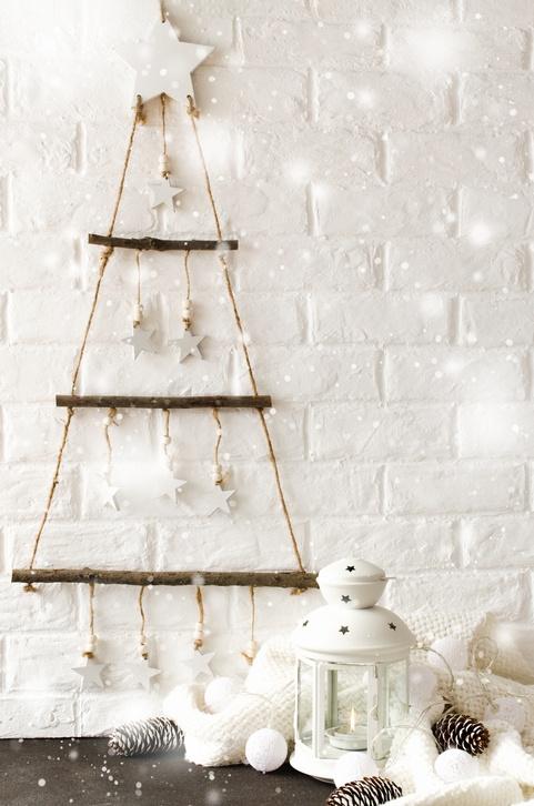 Arboles de navidad ecologicos colgantes