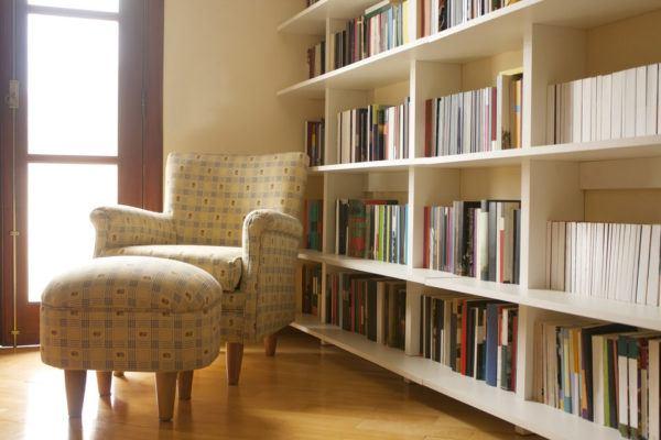 Librería en casa