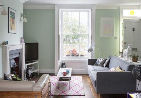 como-decorar-con-paredes-en-verde-agua-chimenea-cafeversatil