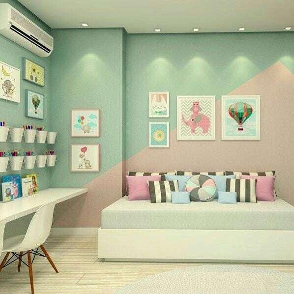 como-decorar-con-paredes-en-verde-agua-dormitorio-juvenil-milideas