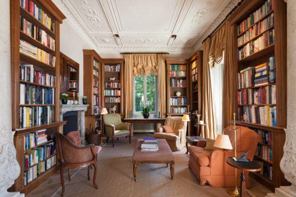 Ideas de decoración de bibliotecas en casa