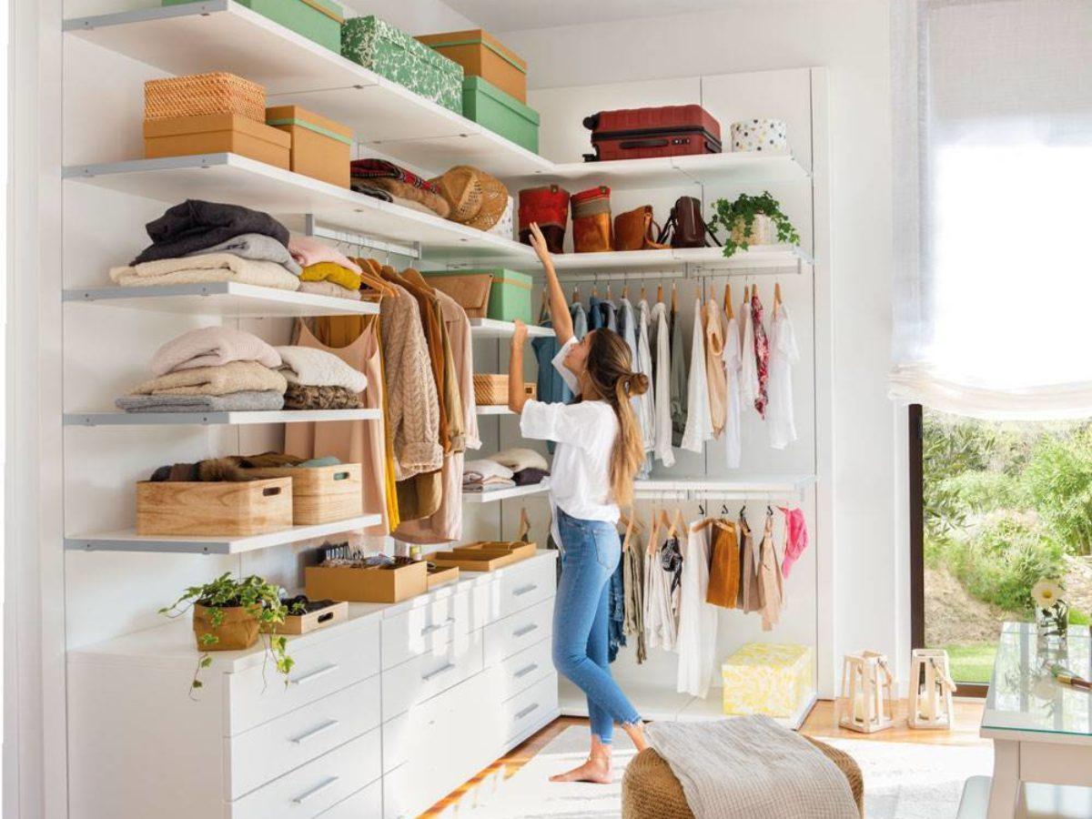 18 fotos de Vestidores abiertos con ideas para ordenar la ropa