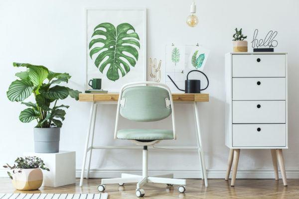 Ideas para poner tu despacho en el salón