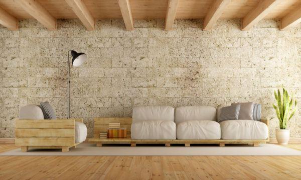 Ideas para hacer y decorar sillones de palets madera
