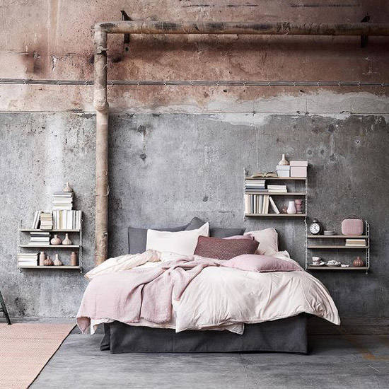 decoracion-industrial-ideas-pared-oxido-dormitorio-nom-adbubles