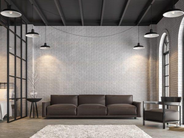 Decoracion industrial salon