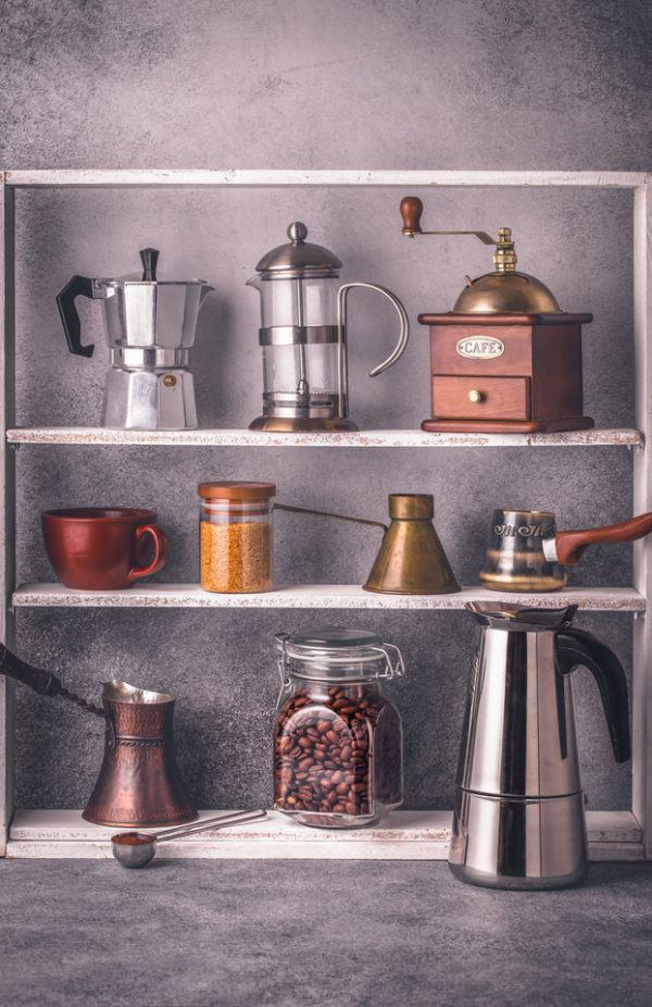 Ideas de mesas de café ideales para los amantes del café
