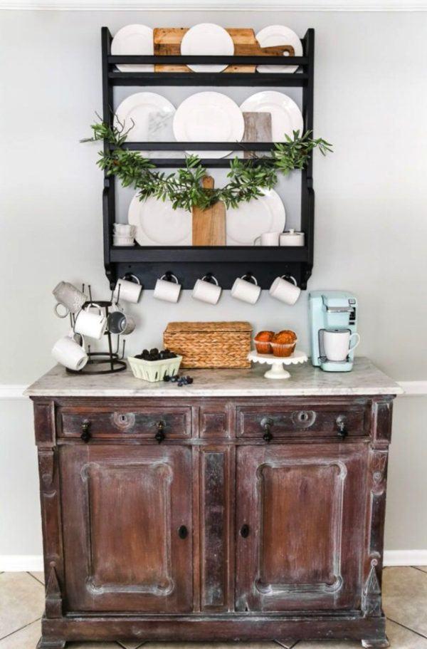 Mesa de café tradicional