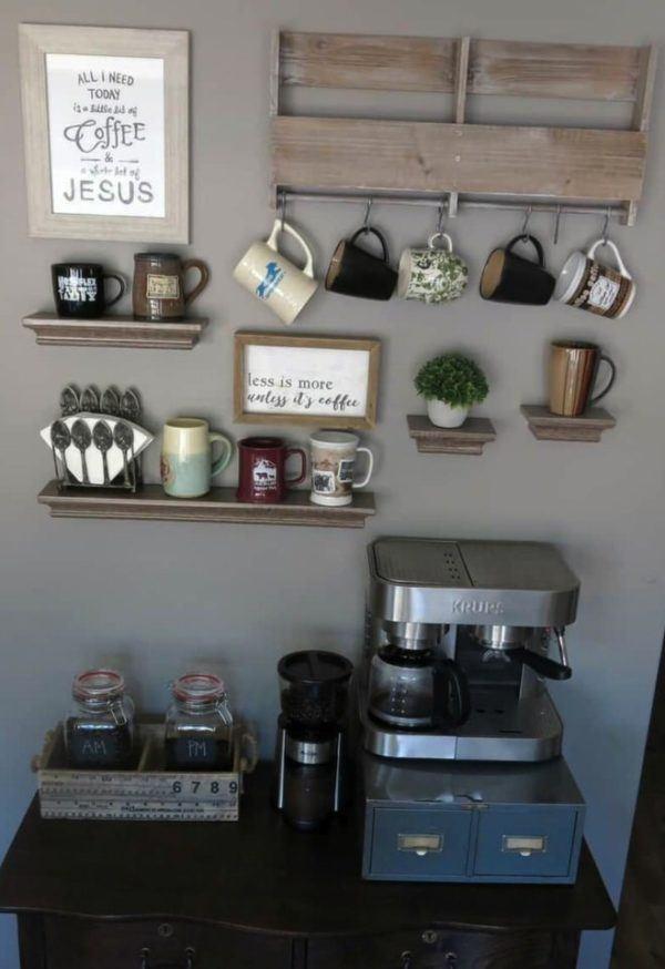 Mesa de café multi-level
