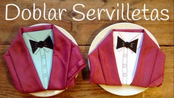 decoracion-con-servilletas-de-papel-traje-youtube