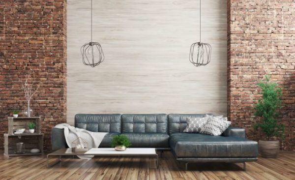 decoracion-ladrillo-visto-en-interior-pared-lateral-de-ladrillo-istock