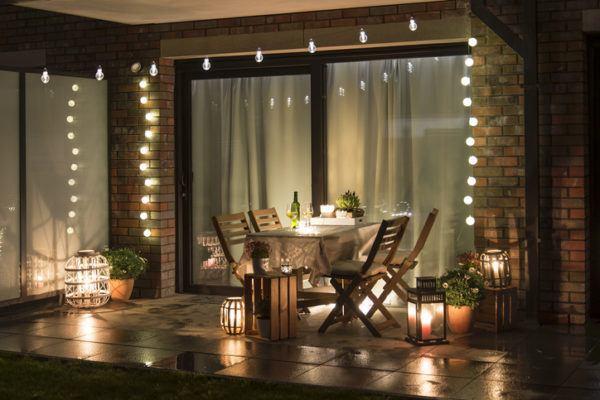 Decoracion para el jardin 2021 con luces