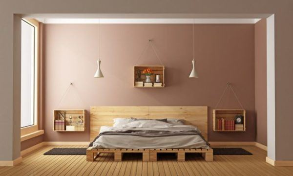 decorar-la-pared-del-dormitorio-cajon-estante-istock