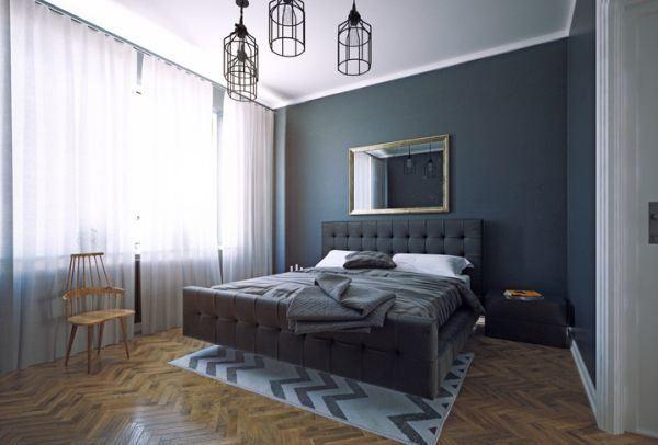 decorar-la-pared-del-dormitorio-espejo-istock