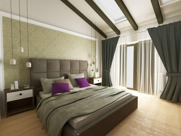 decorar-la-pared-del-dormitorio-papel-istock