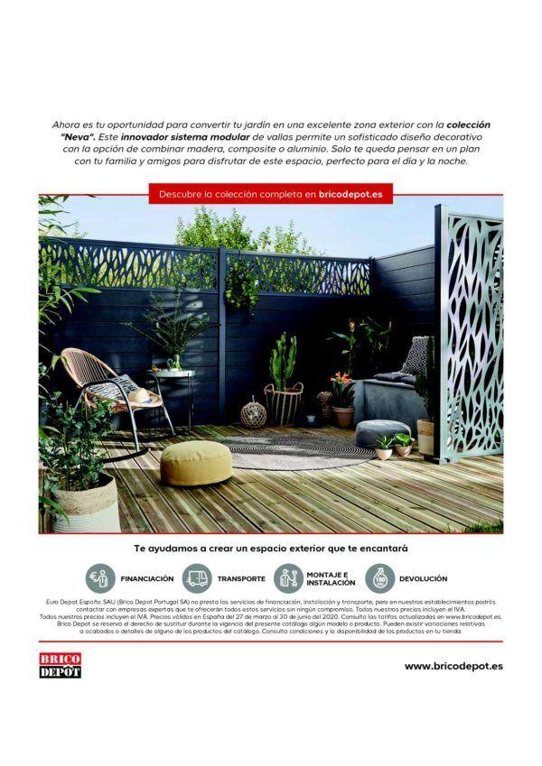Catálogo Brico Depot Especial Jardín Y Exterior 2021 Espaciohogar Com