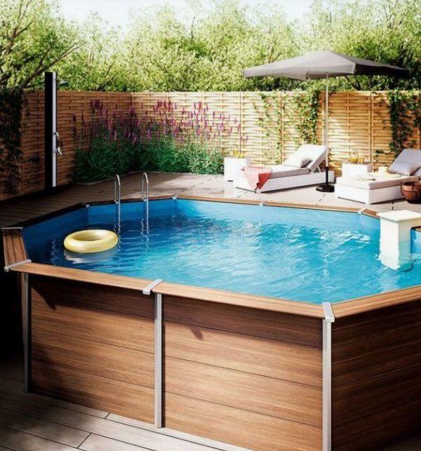 Piscinas para el jardín que puedes instalar tú mismo