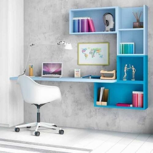 como-decorar-la-mesa-de-trabajo-azules-instagram