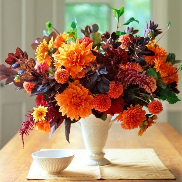 Como hacer arreglo floral FOTOS centro de mesa jarron pequeño
