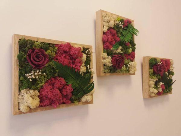 como-hacer-un-arreglo-floral-cuadros-con-rojo-instagram