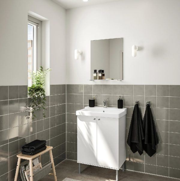 Baño pequeño catálogo Ikea 2021
