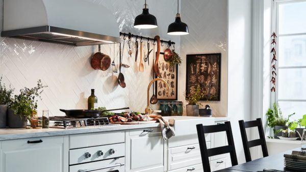 Cocinas integrales pequenas cocina vintage de ikea