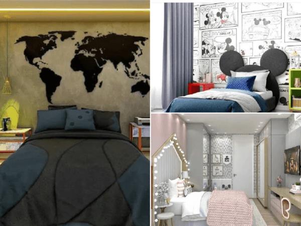 Cómo decorar la pared del dormitorio: ideas originales
