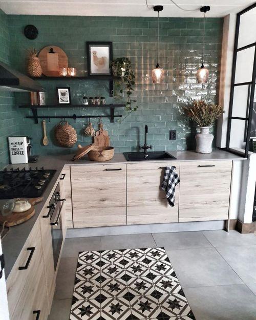 como-decorar-pared-de-la-cocina-sin-taladrar-instagram-puntogar