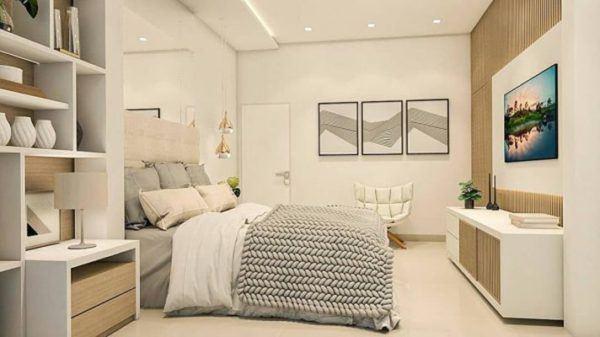 como-decorar-pared-del-dormitorio-cuadros-instagram-ideias-para-dormitorios