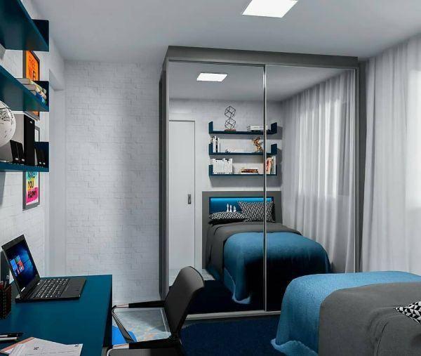 como-decorar-pared-del-dormitorio-espejo-instagram-ideias-para-dormitorios