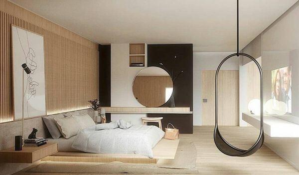 como-decorar-pared-del-dormitorio-espejo2-instagram-ideias-para-dormitorios