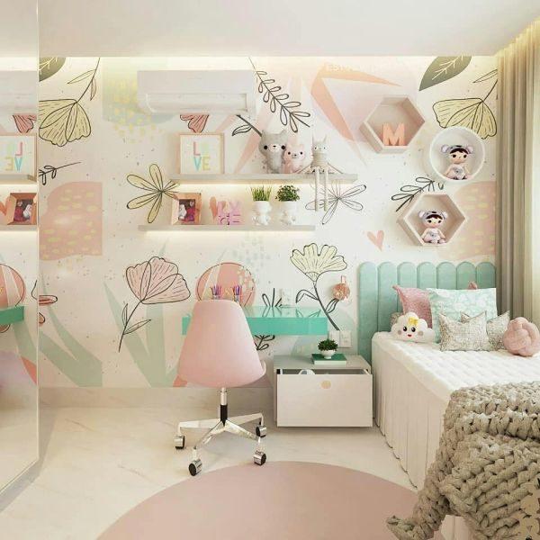 como-decorar-pared-del-dormitorio-papel-pintado-instagram-ideias-para-dormitorios