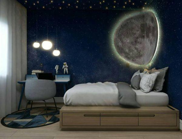 como-decorar-pared-del-dormitorio-vinilo-instagram-ideias-para-dormitorios