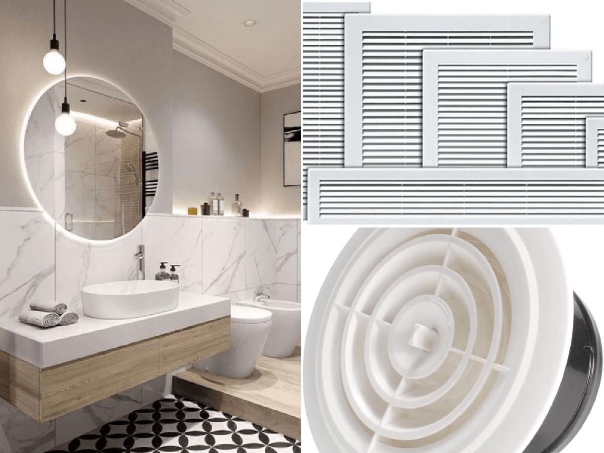 Cómo limpiar las rejillas de ventilación del baño paso a ...