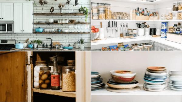 Cómo ordenar los armarios de la cocina para ganar espacio