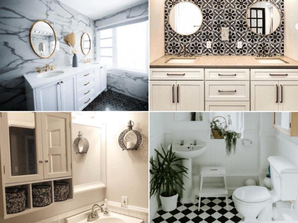 Cómo ordenar los armarios del baño