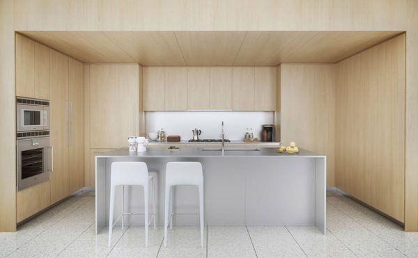 FOTOS de cocinas con isla central diseño basico